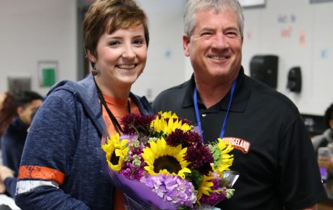 Dr. Braun named Teacher of the Year