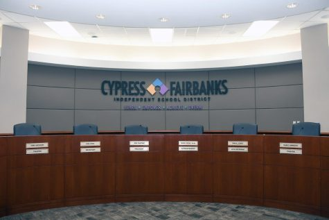 The CFISD board room