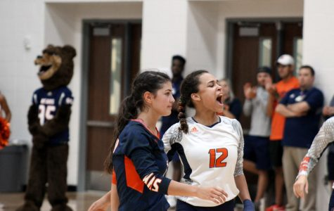 Varsity volleyball defeats rival Cy Ranch in first district game