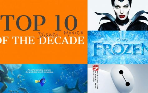 Top ten: Disney movies of the decade