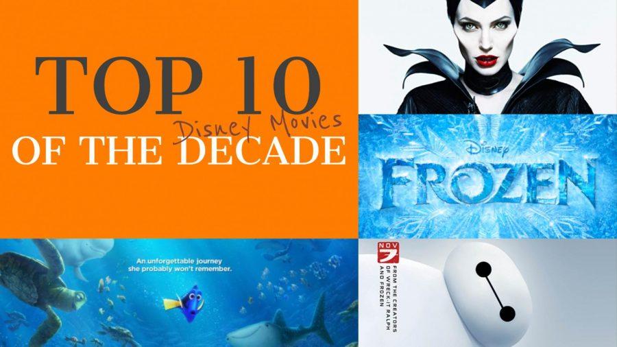 Top ten: Disney movies of the decade
