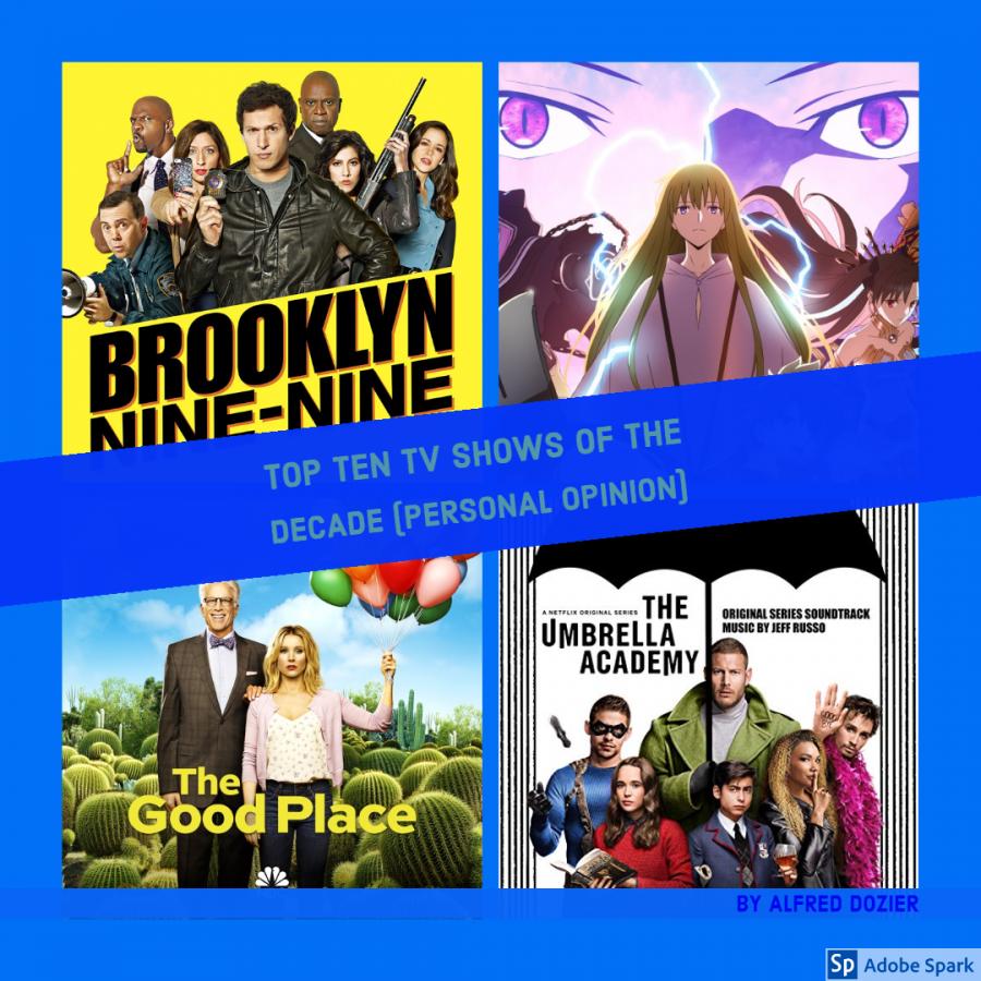 Top ten: TV shows of the decade