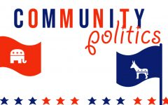 Community members promote political beliefs for nearing election