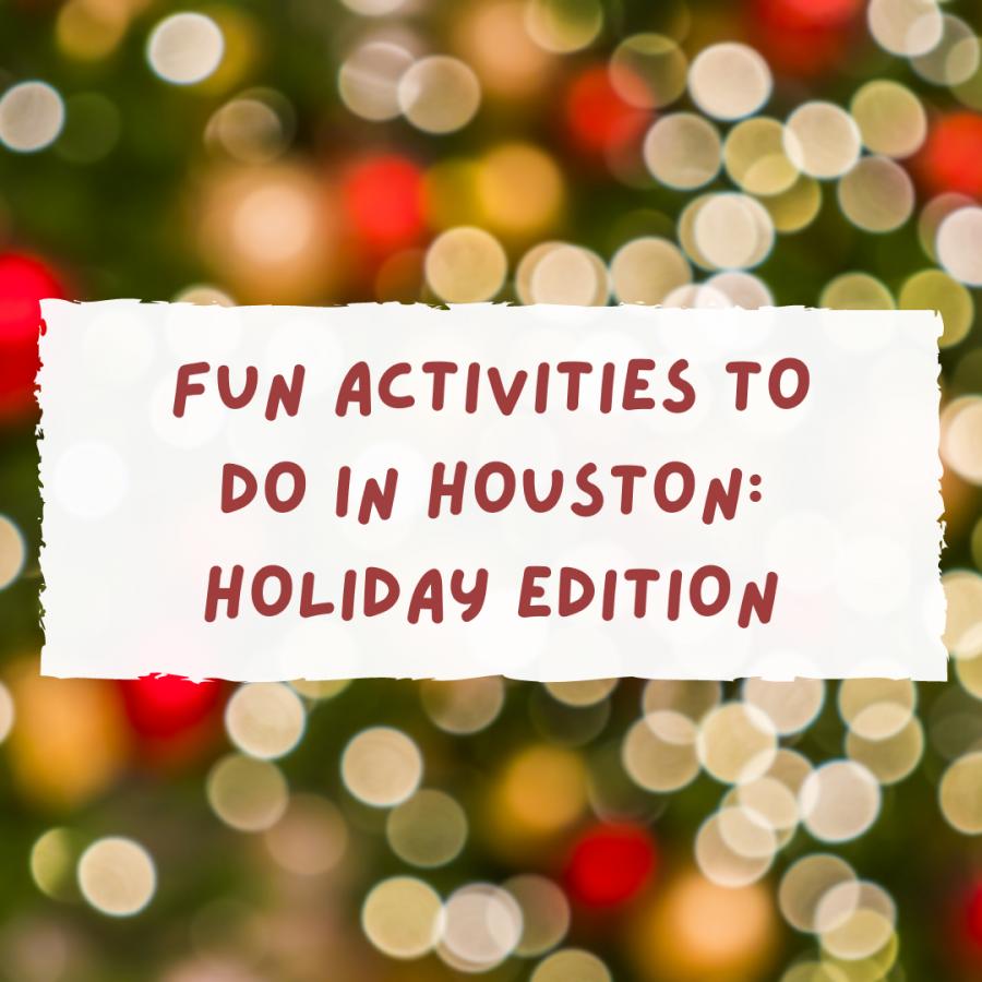 Fun activities to do in Houston