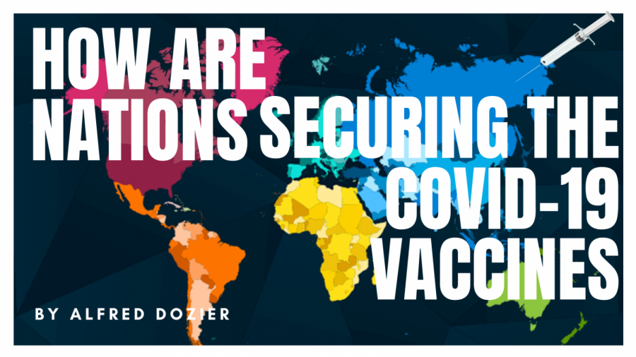 How are countries securing COVID-19 vaccines